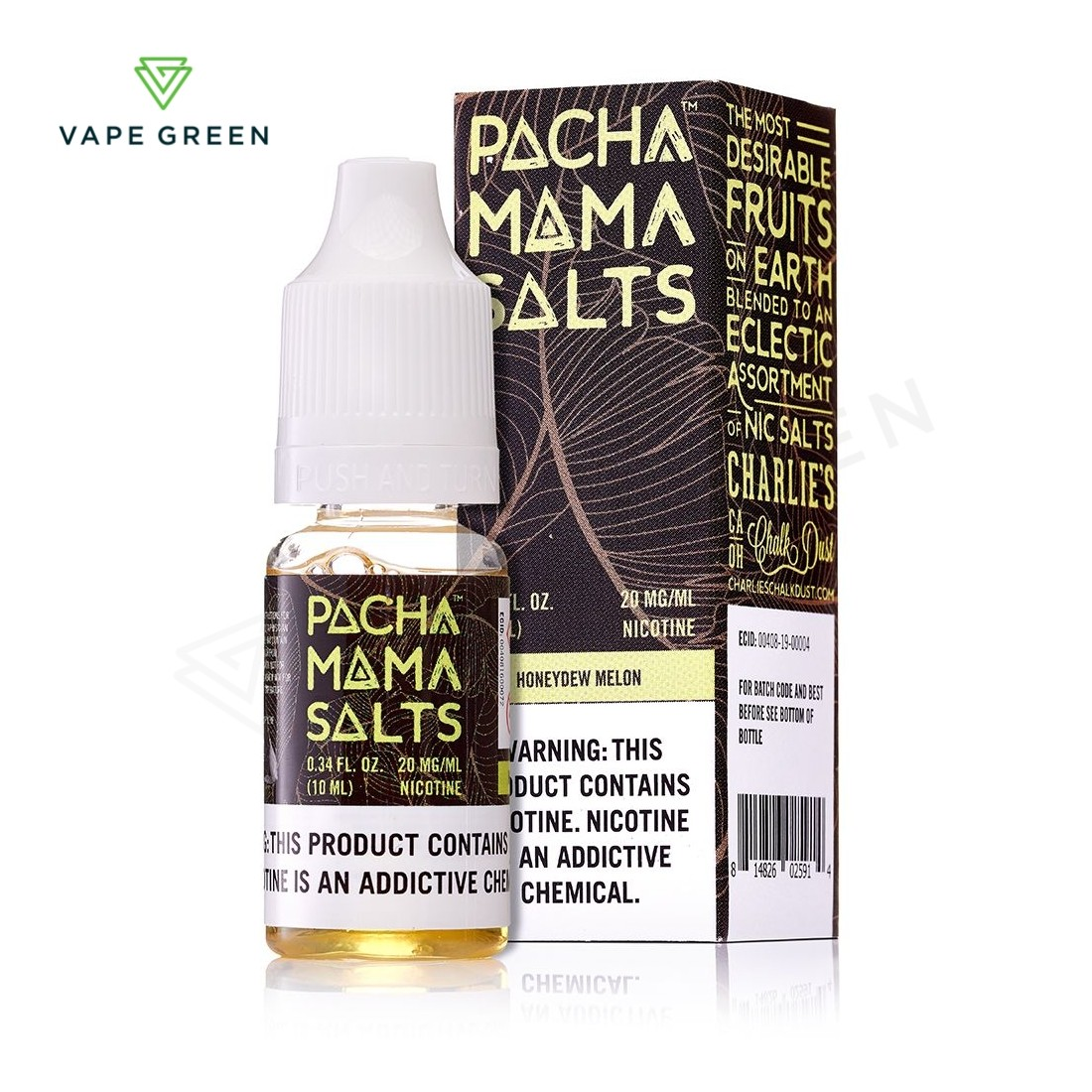 Honeydew Melon eLiquid by Pacha Mama Salts