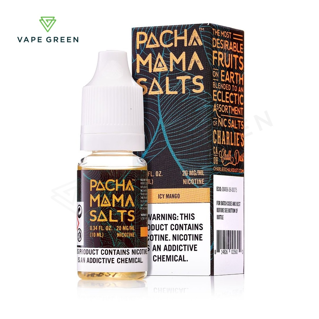 Icy Mango eLiquid by Pacha Mama Salts