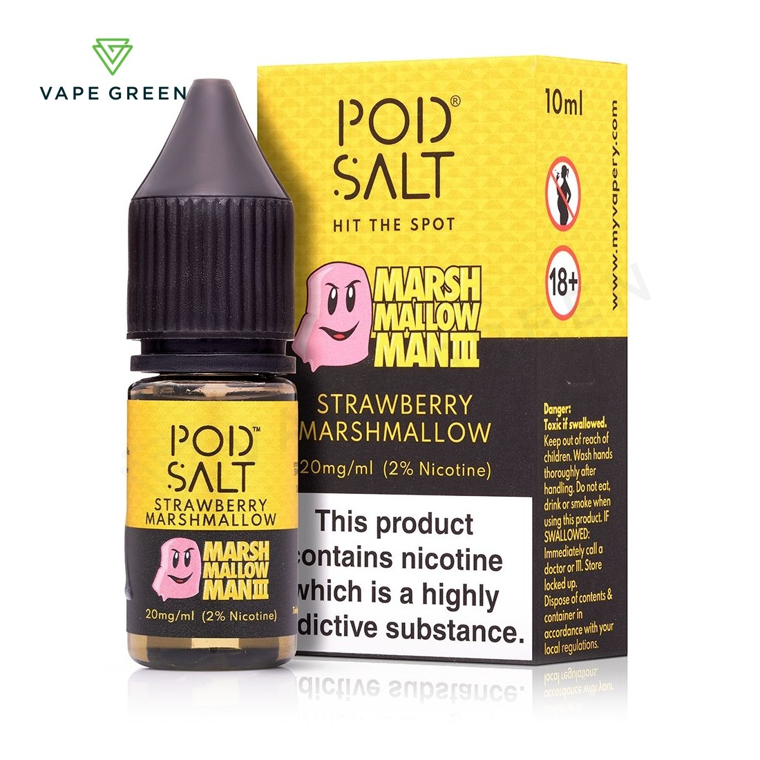 Marshmallow Man 3 eLiquid by Pod Salt