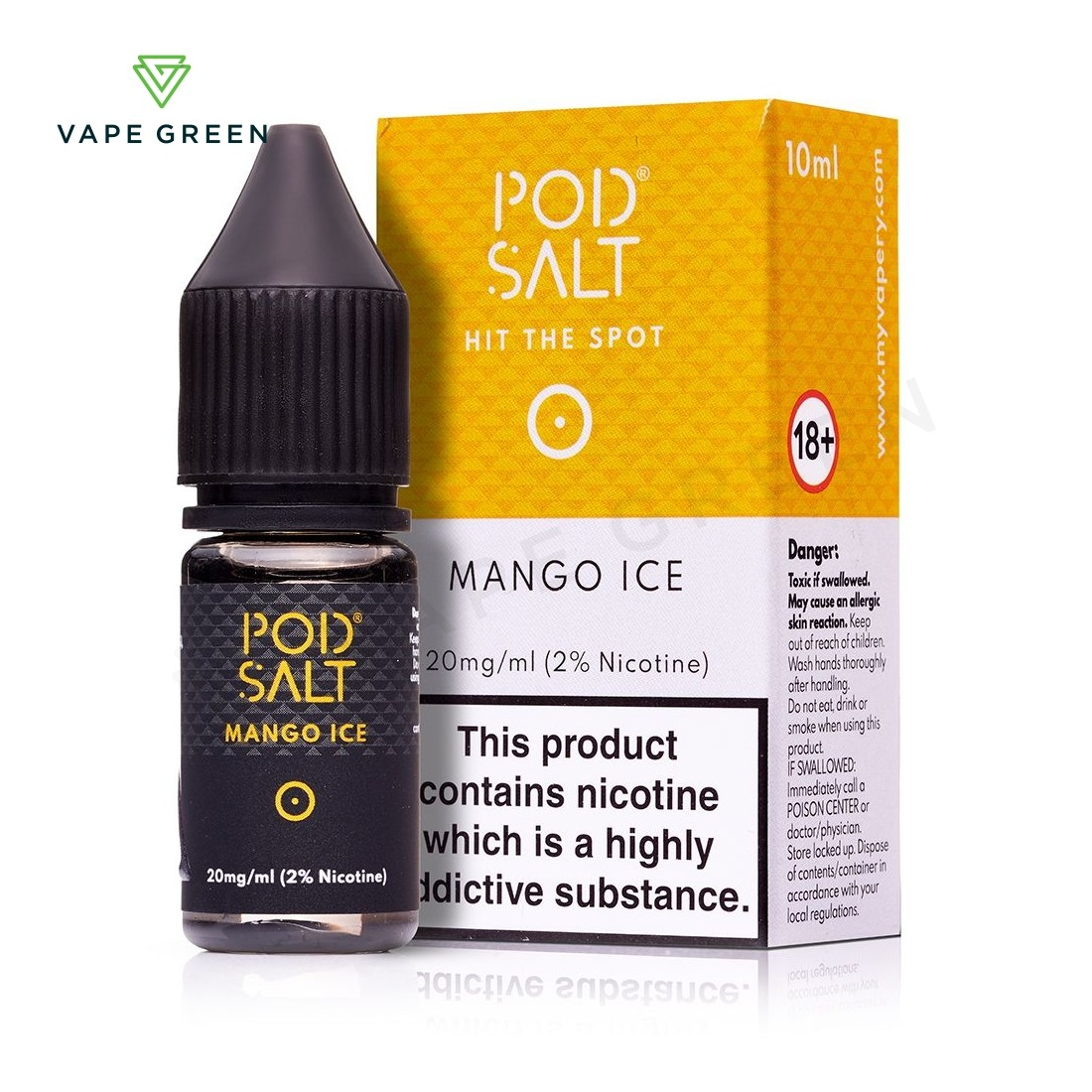 Mango Ice eLiquid by Pod Salt
