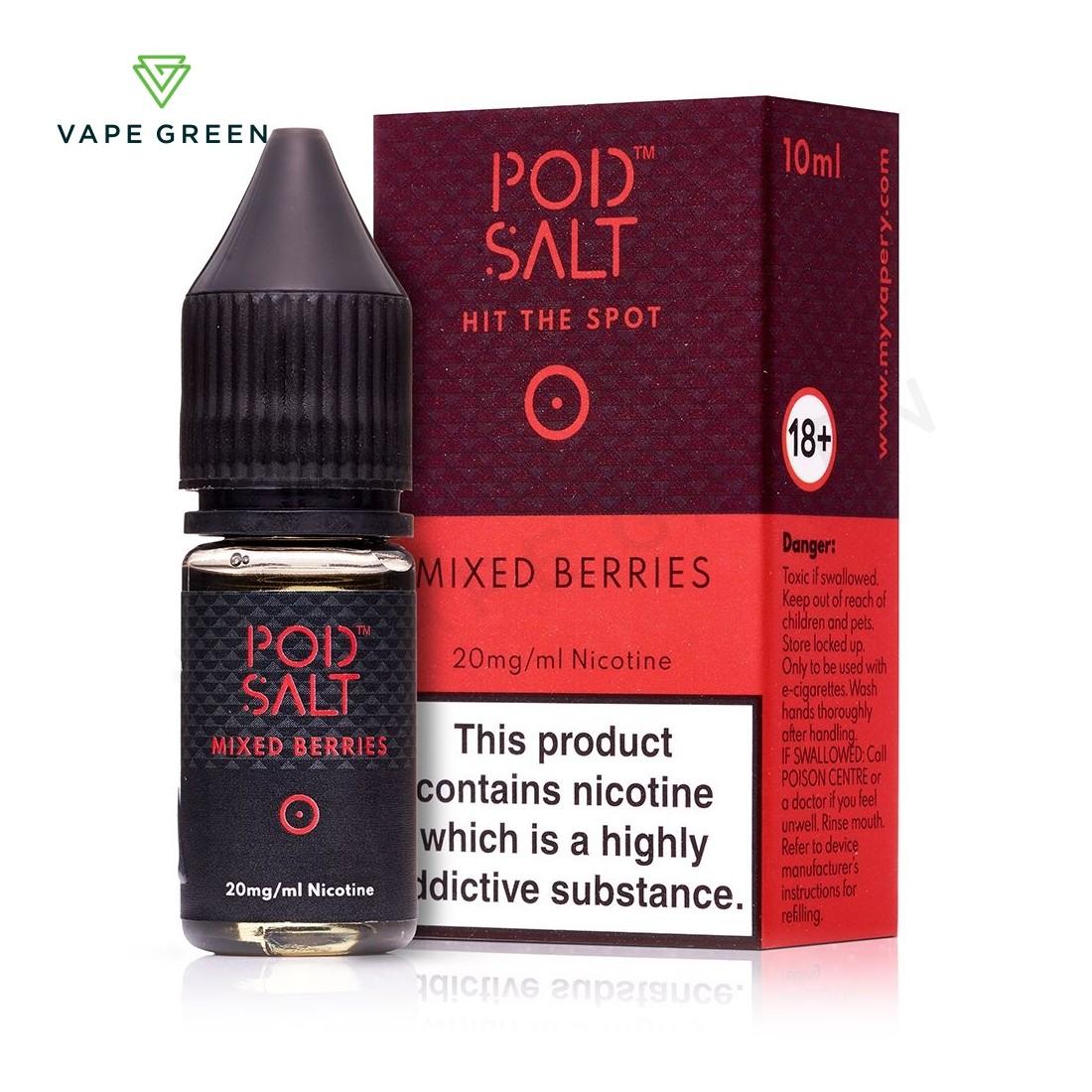 Mixed Berries eLiquid by Pod Salt