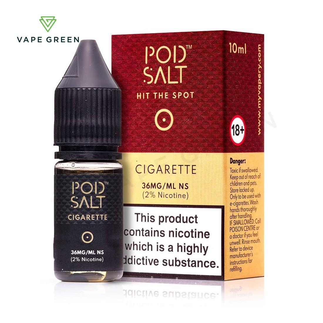 Cigarette eLiquid by Pod Salt