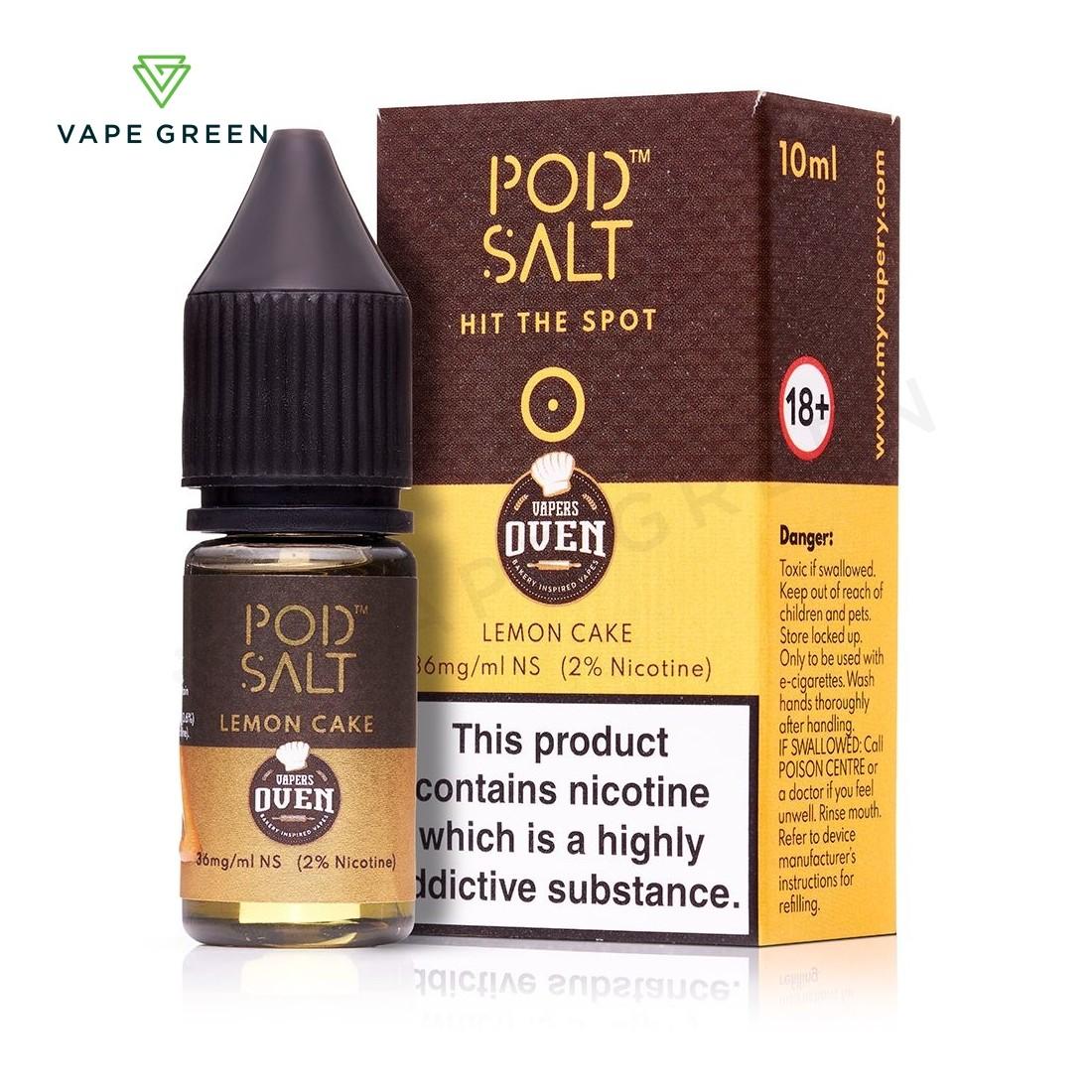 Lemon Cake eLiquid by Pod Salt