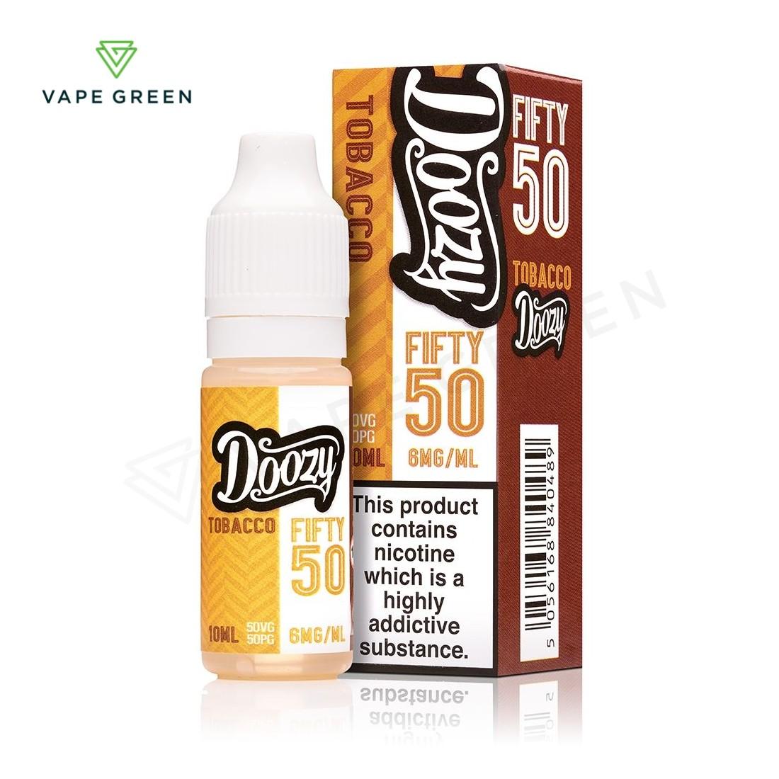Tobacco E-Liquid by Doozy Fifty 50