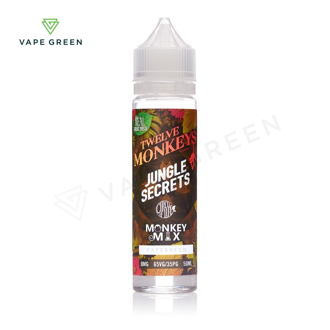 Jungle Secrets E-Liquid by Twelve Monkeys Vapor 50ml