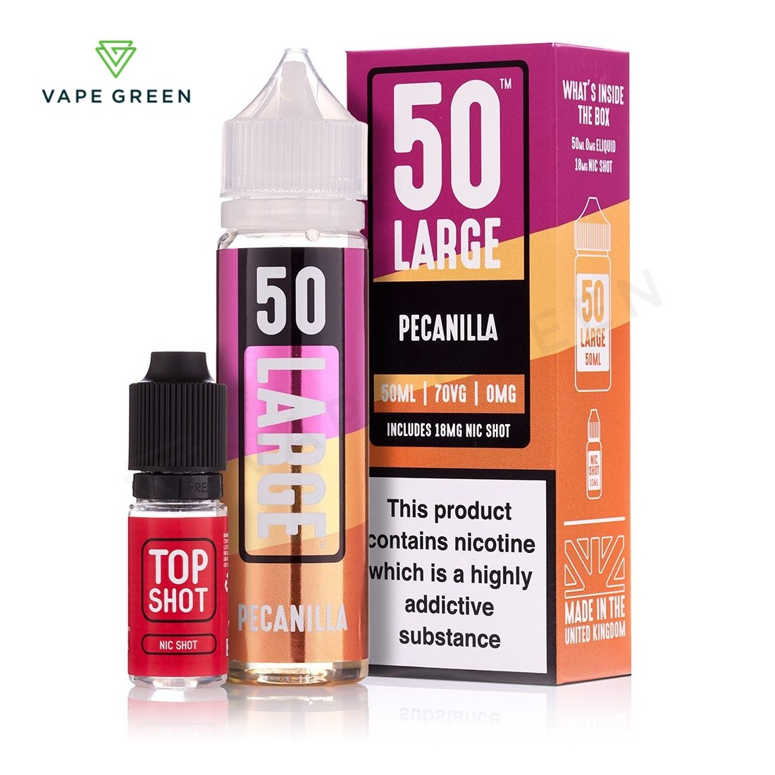 Pecanilla E-Liquid by 50 Large - 50ml