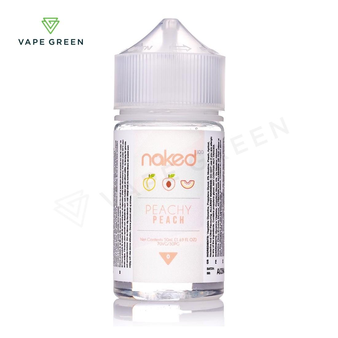 Peachy Peach E-liquid by Naked 100 - 50ml