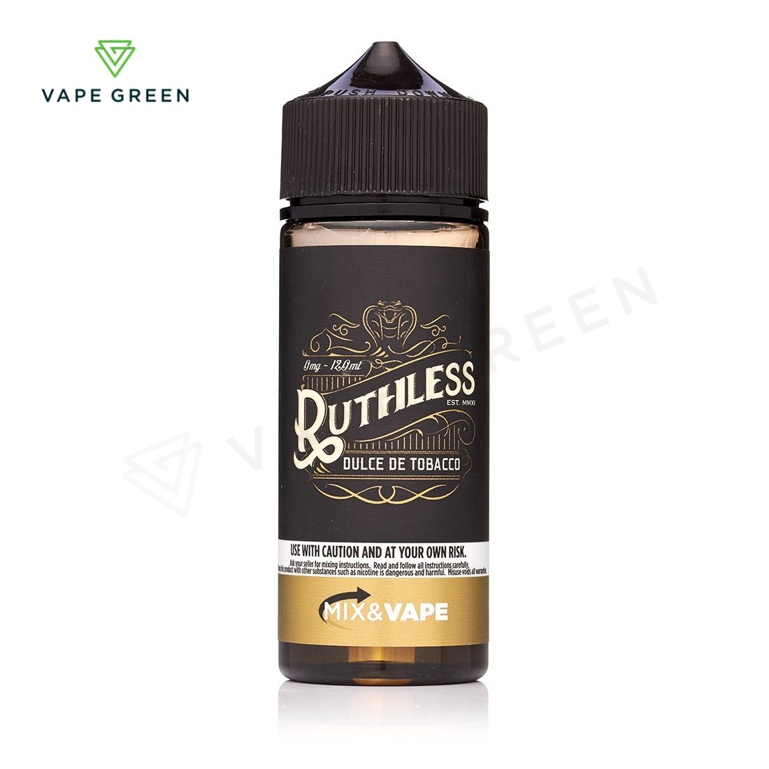 Dulce De Tobacco E-liquid by Ruthless 100ml