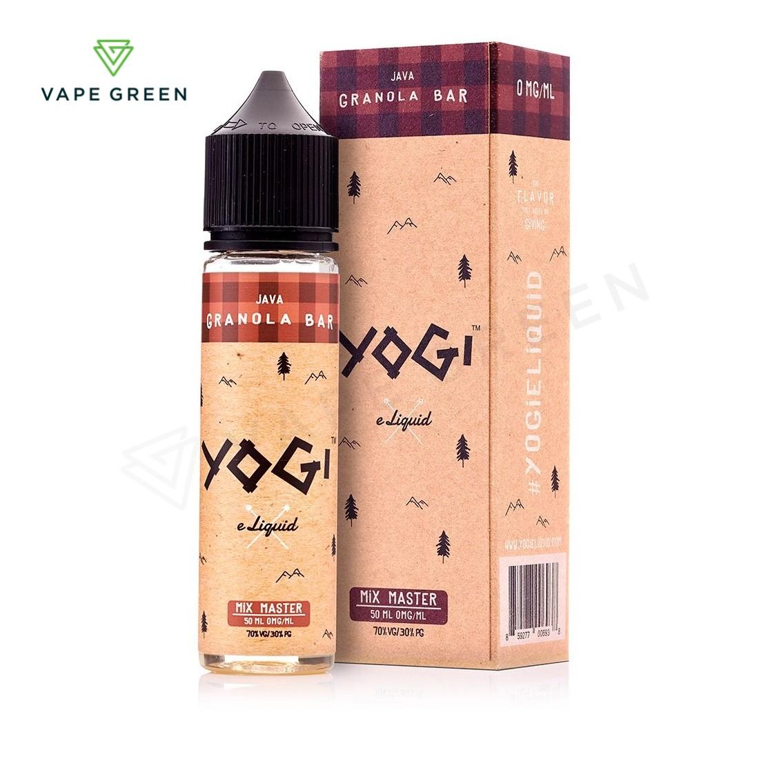 Java Granola Bar E-Liquid by Yogi 50ml