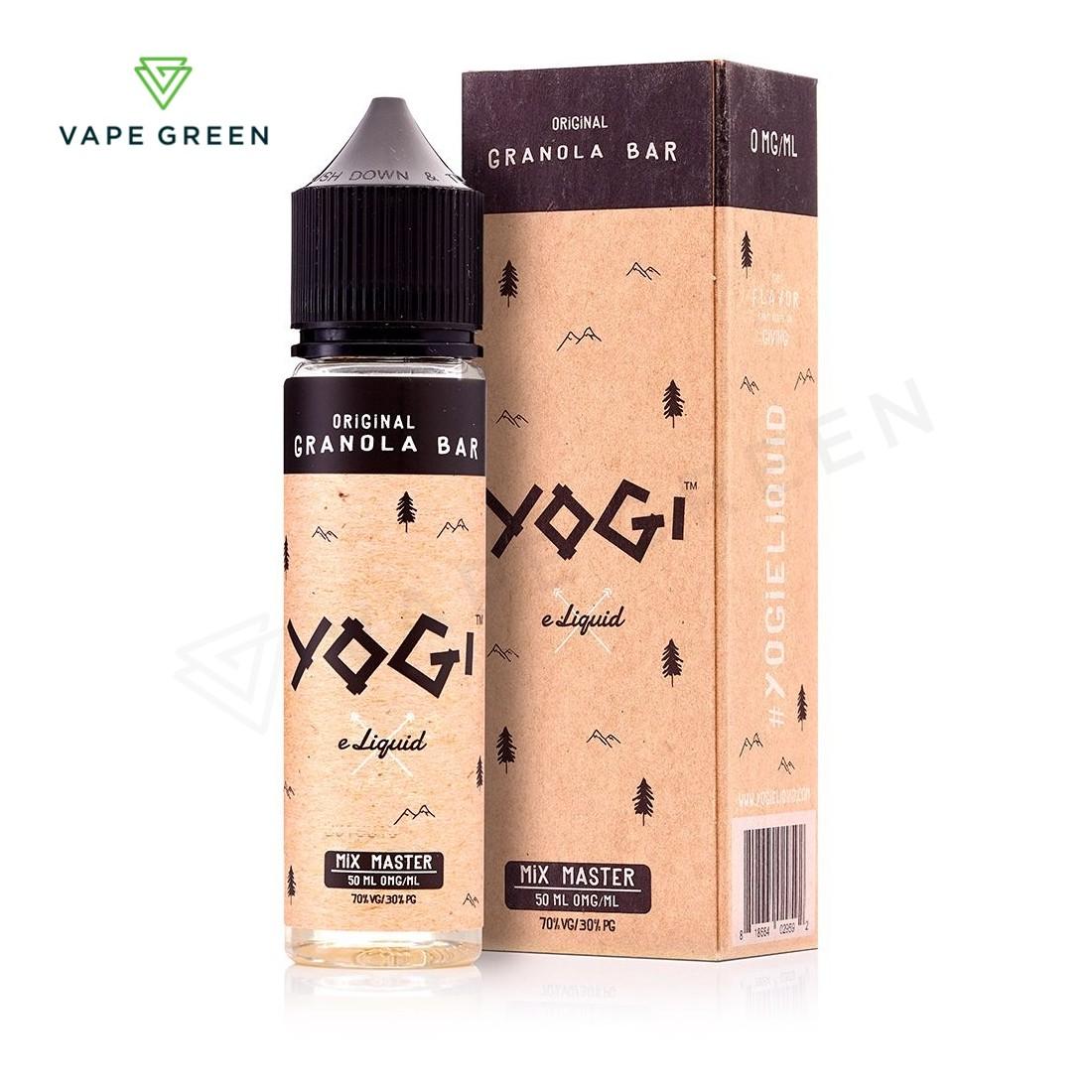 Original Granola Bar E-Liquid by Yogi 50ml