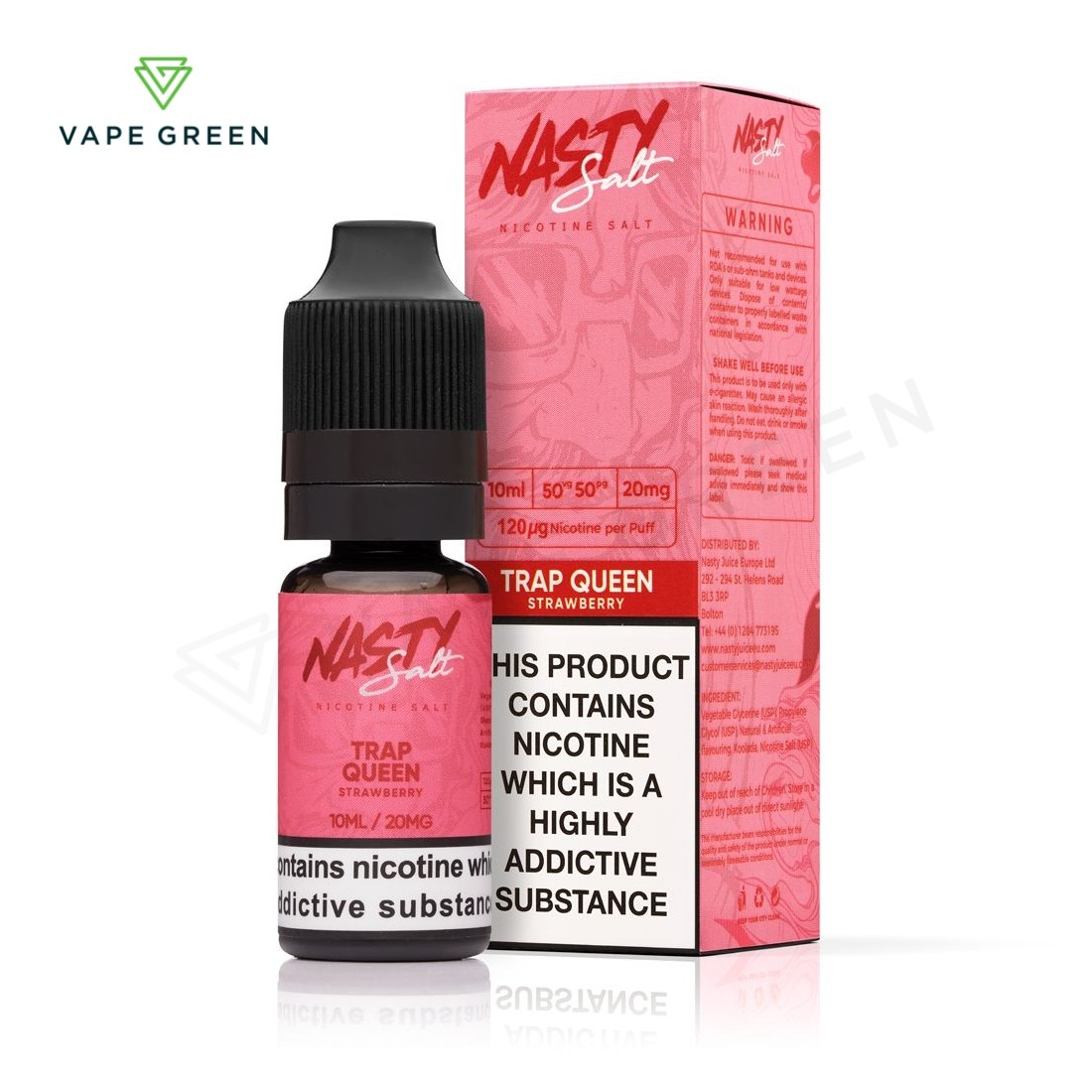 Trap Queen eLiquid by Nasty Salt