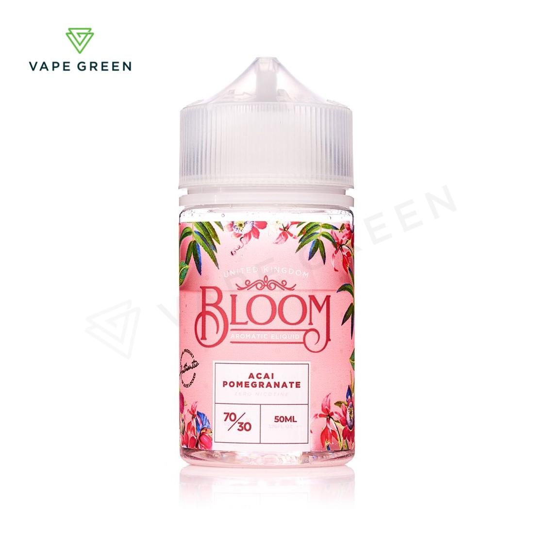 Acai Pomegranate E-Liquid by Bloom 50ml