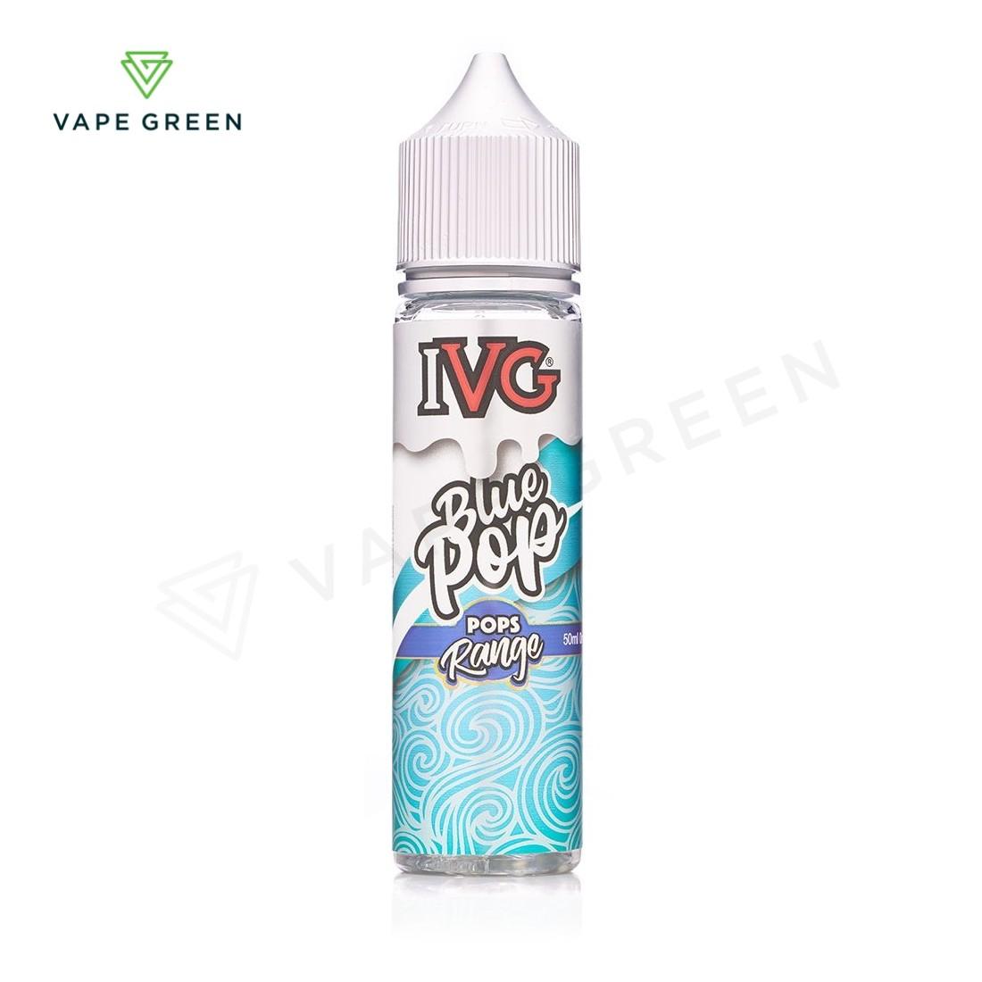 Blue Lollipop E-liquid by IVG Pops 50ml