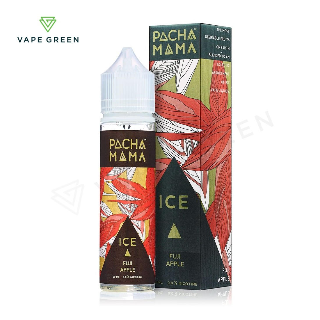 Fuji Apple, Strawberry Nectarine ICE E-Liquid by Pacha Mama 50ml