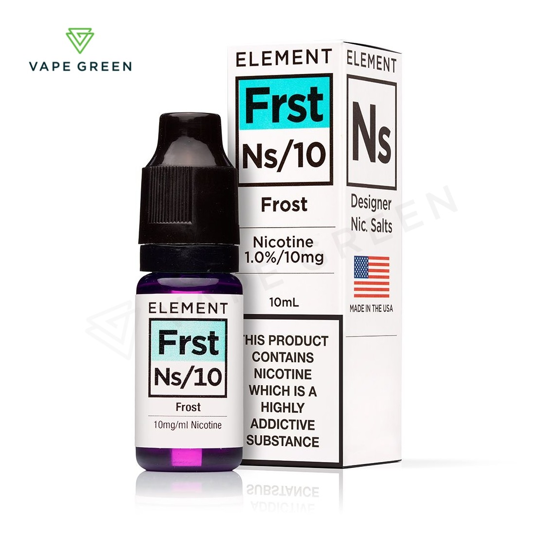 Frost E-liquid by Element NS10 & NS20