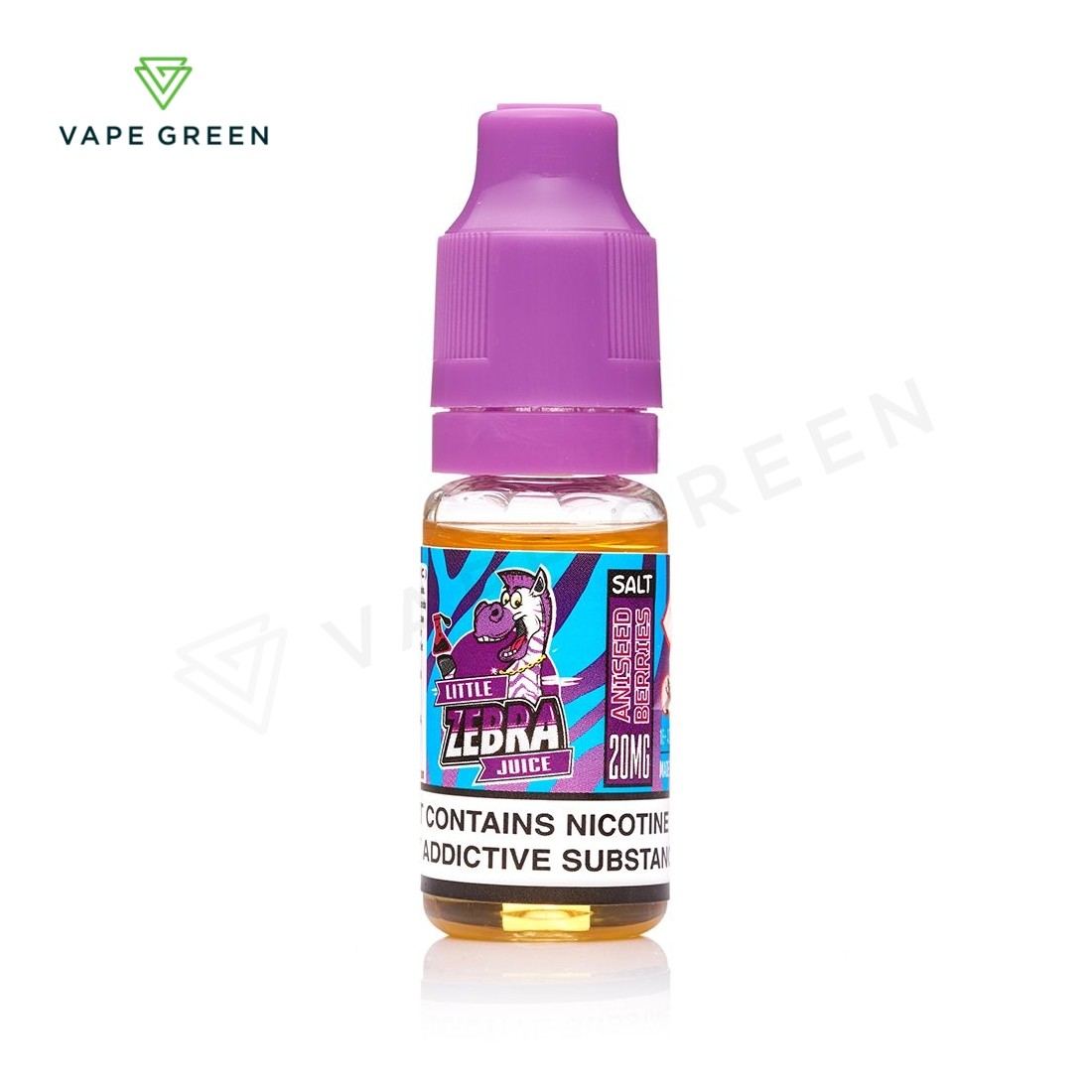 Aniseed Berries E-Liquid by Zebra Juice Nic Salt