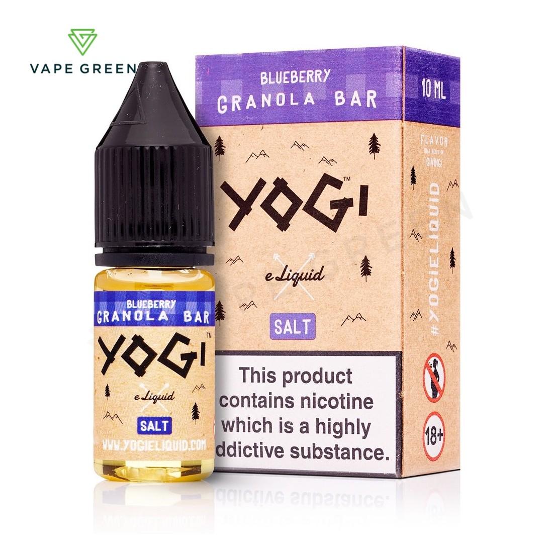 Blueberry Granola Bar E-Liquid by Yogi Salt