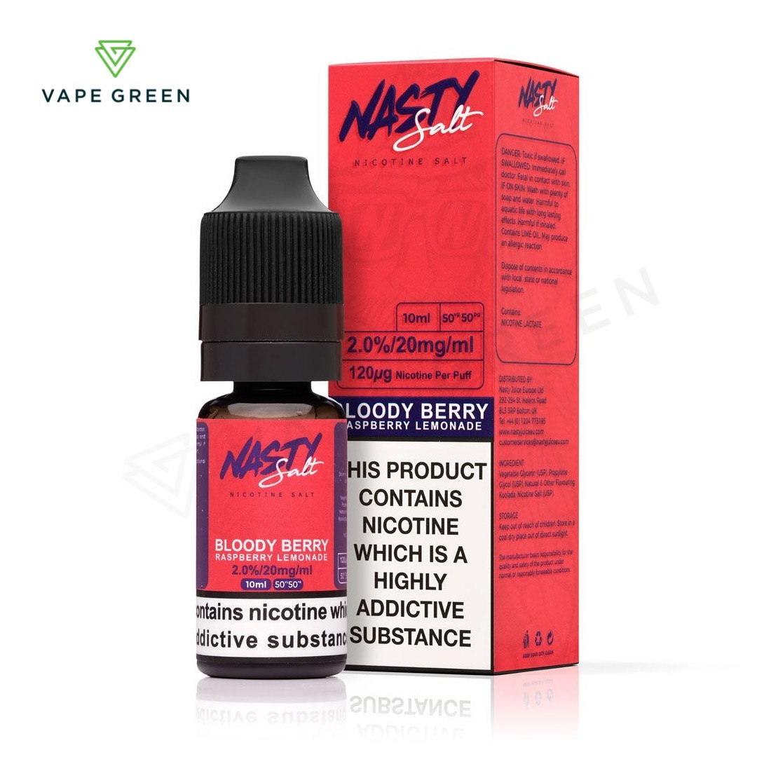 Bloody Berry eLiquid by Nasty Salt