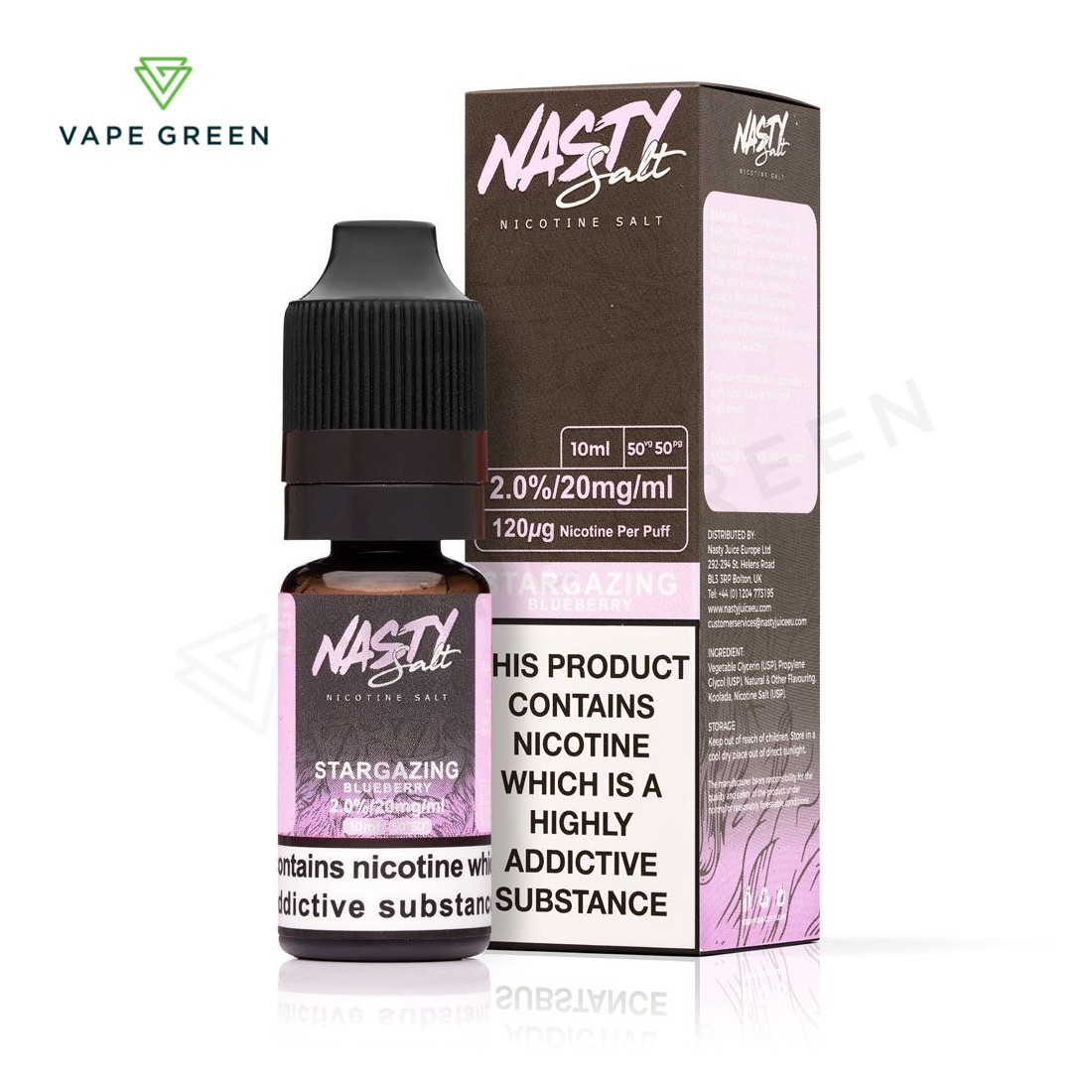 Stargazing eLiquid by Nasty Salt