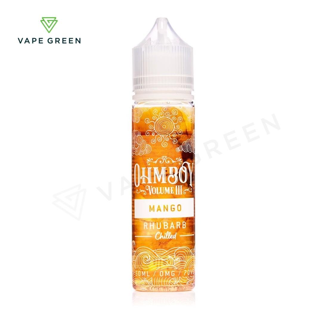 Mango Rhubarb E-liquid by Ohm Boy Volume III 50ml