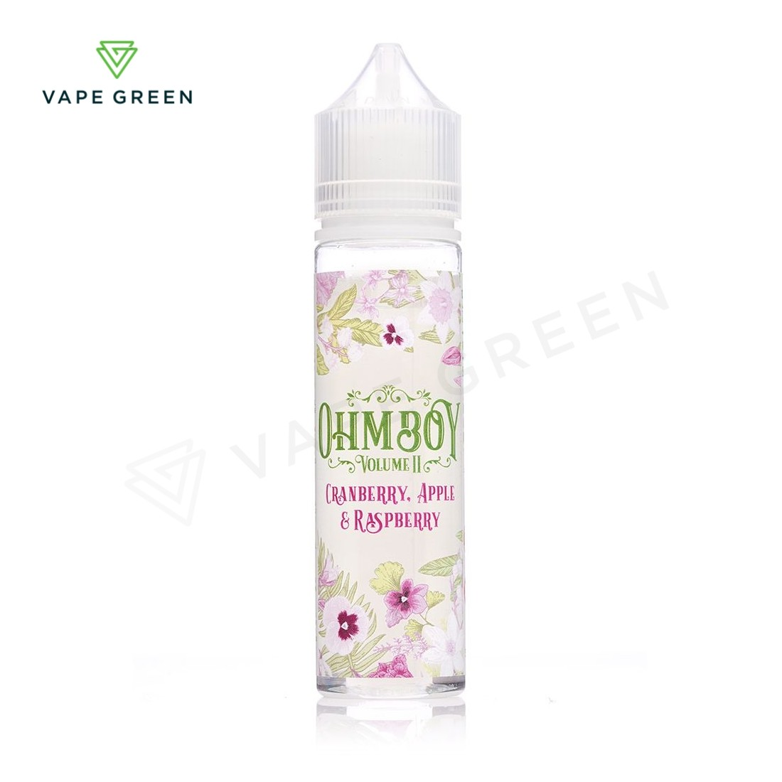 Cranberry, Apple & Raspberry E-liquid by Ohm Boy Volume II 50ml