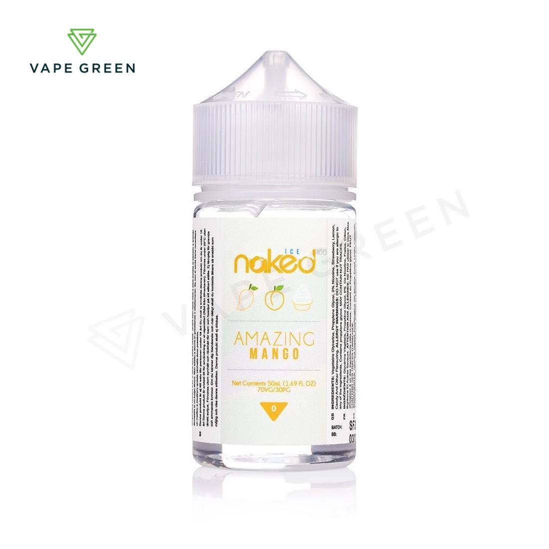 Amazing Mango Ice E-liquid by Naked 100 - 50ml