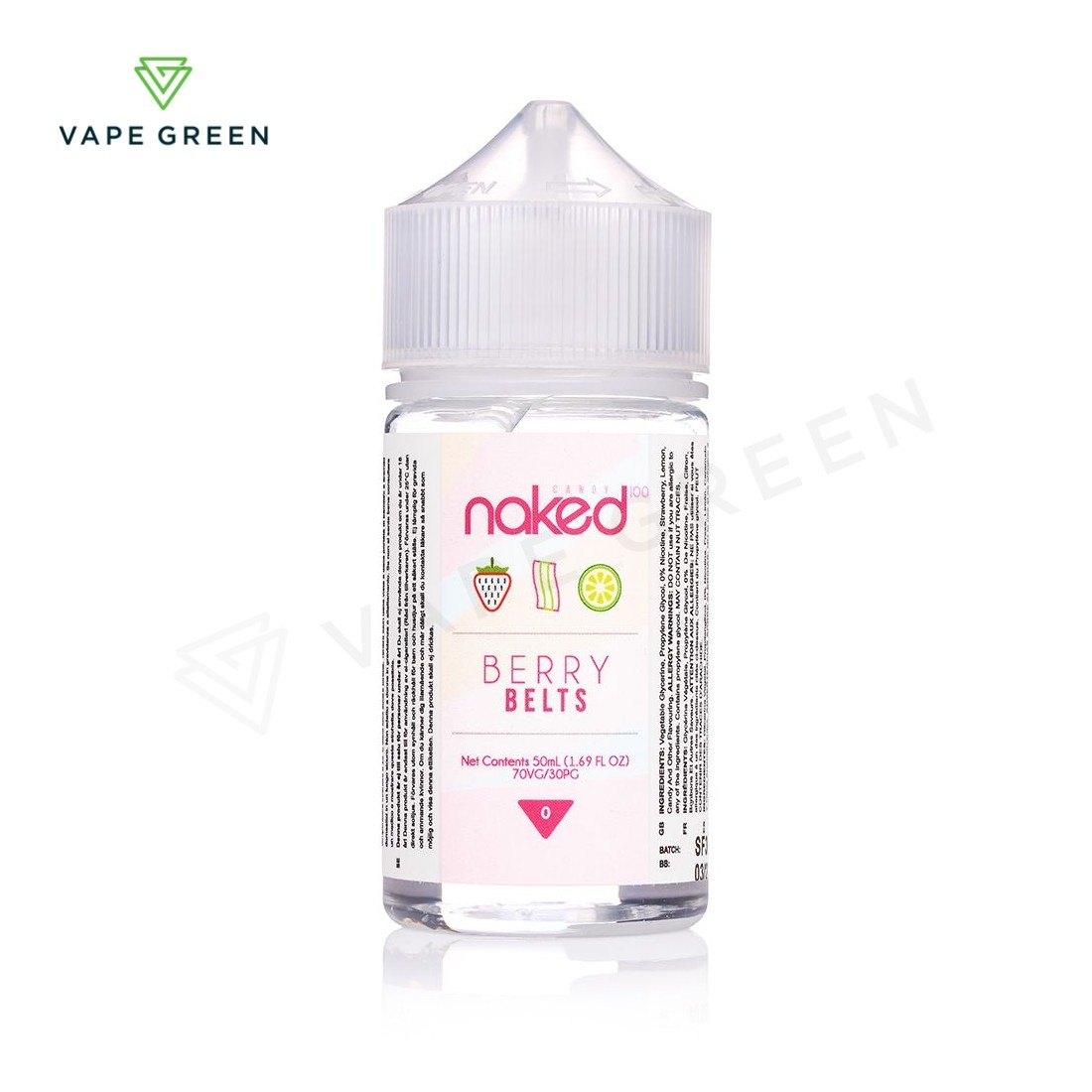 Berry Belts E-liquid by Naked 100 - 50ml