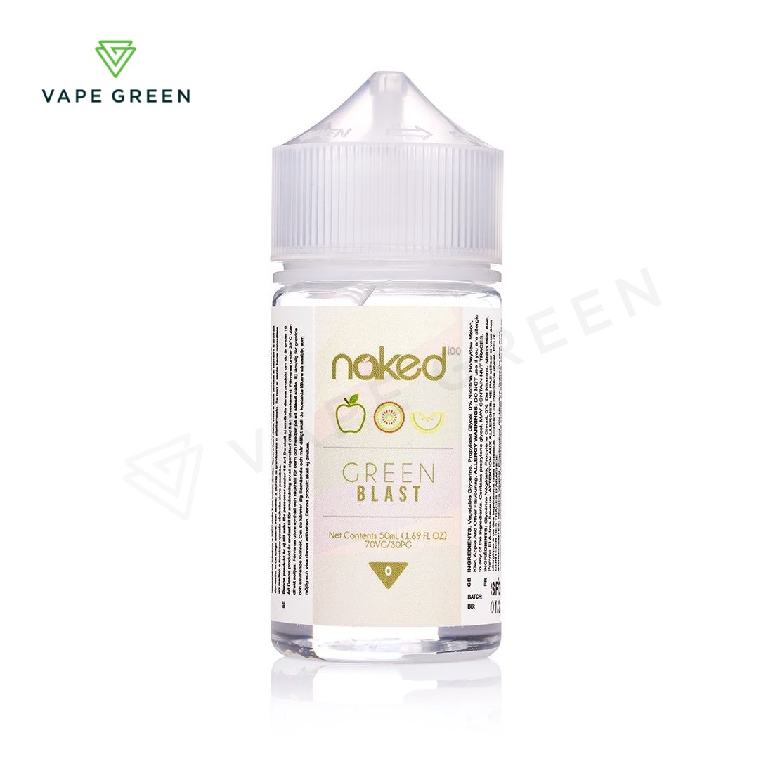 Green Blast E-liquid by Naked 100 - 50ml