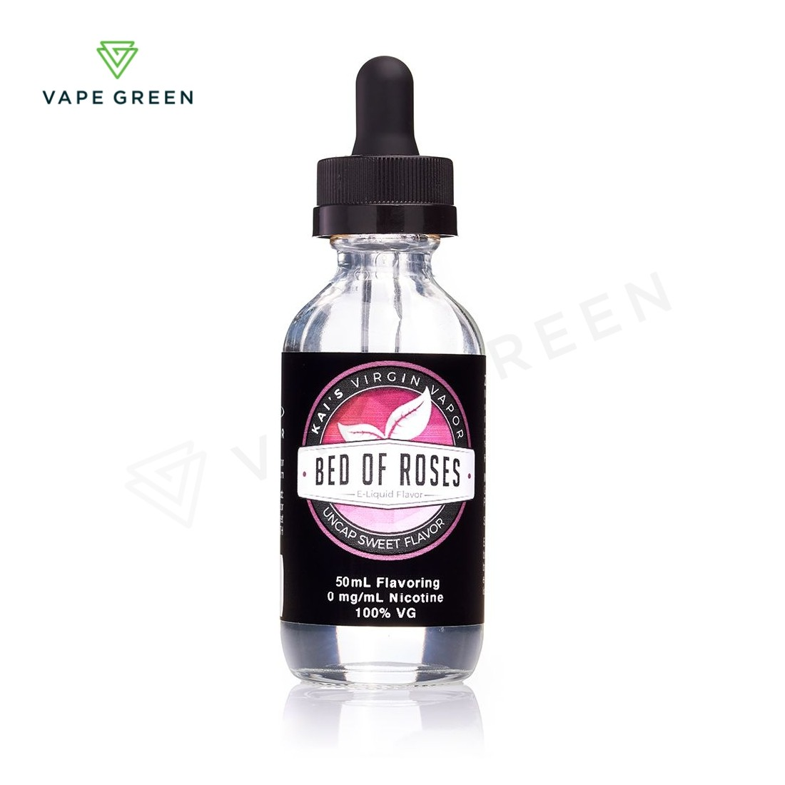 Bed of Roses E-Liquid by Kai's Virgin Vapor 50ml Shortfill