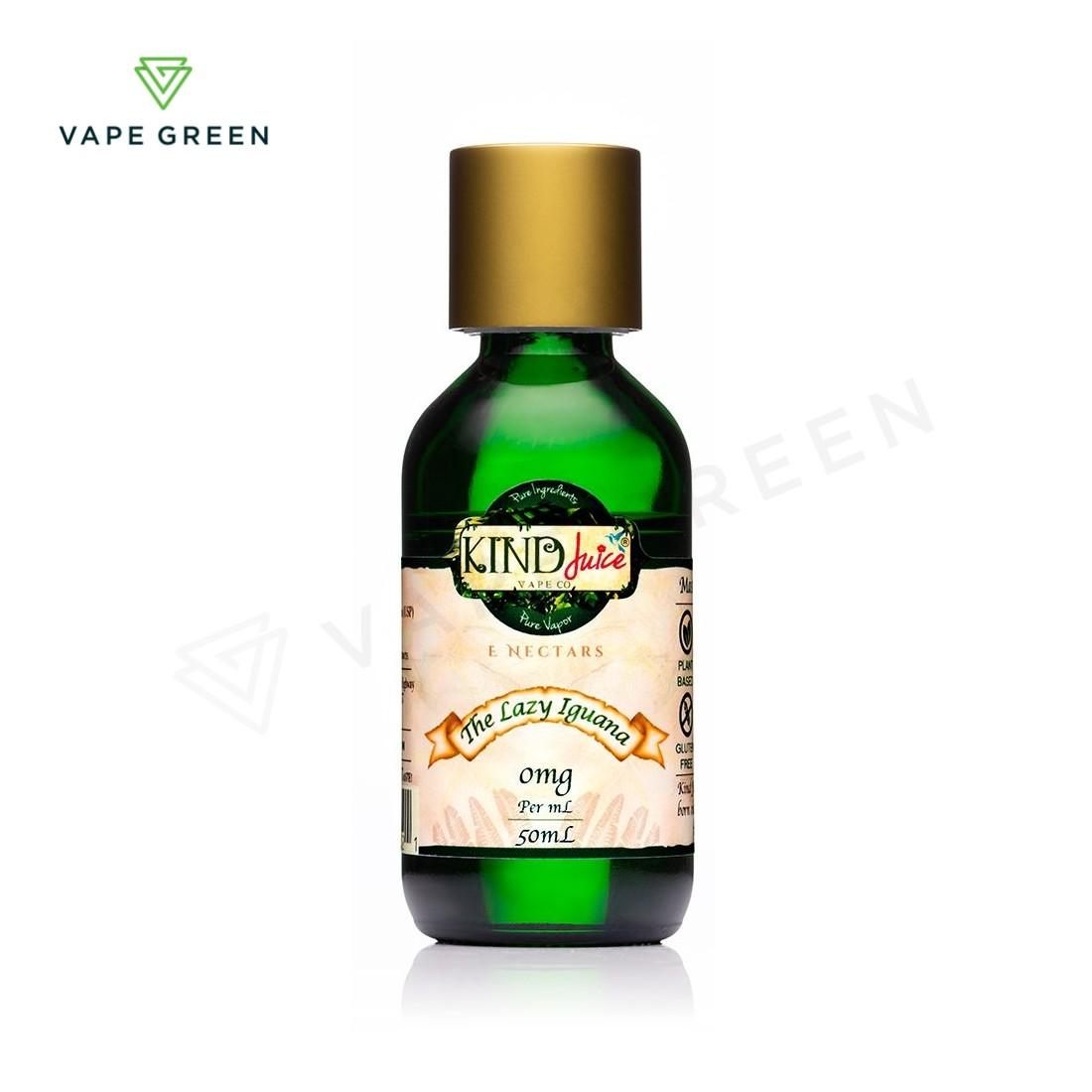 The Lazy Iguana E-Liquid by Kind Juice 50ml Shortfill
