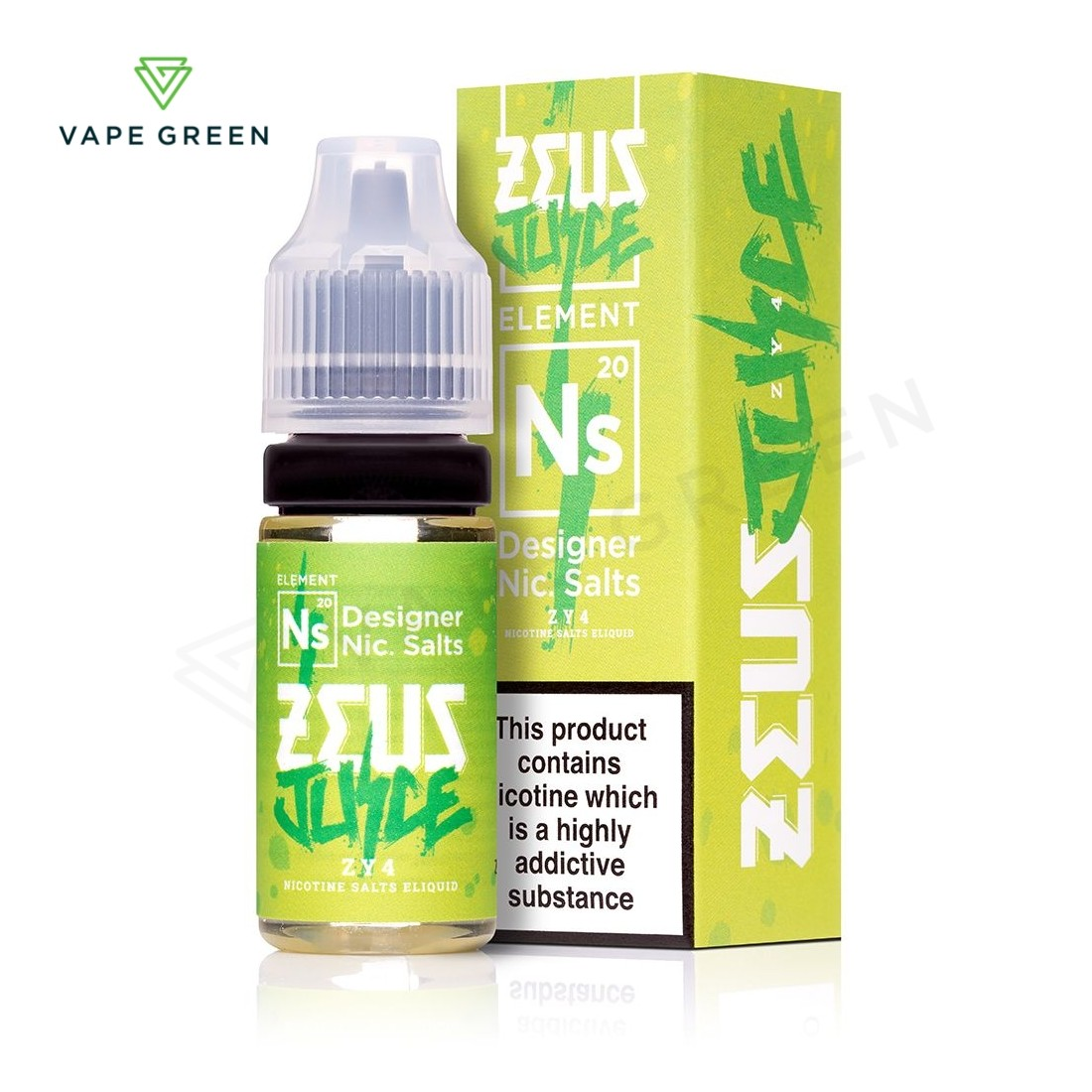 ZY4 E-Liquid by Zeus Juice Nic Salts