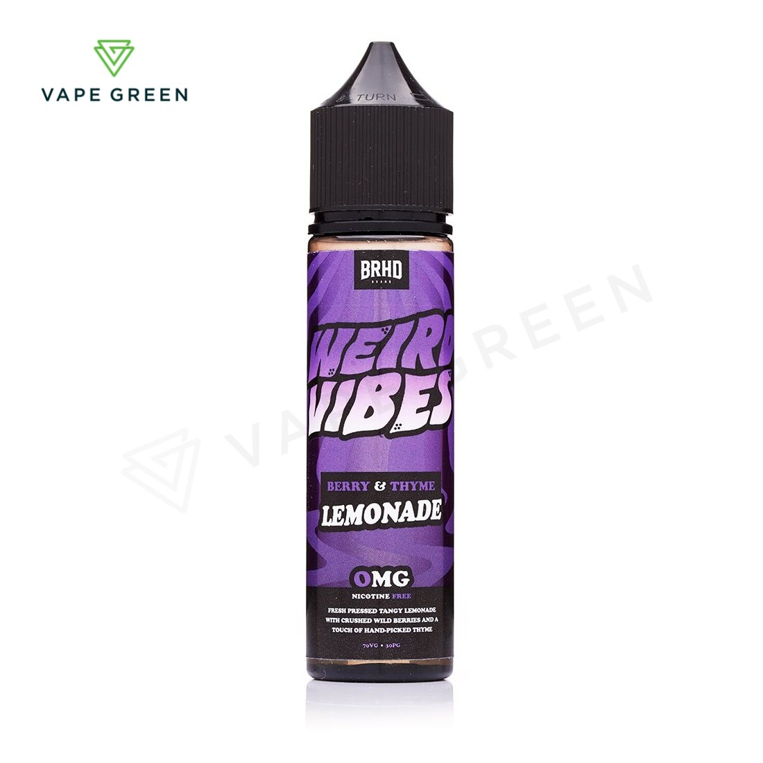 Berry & Thyme E-liquid by Weird Vibes 50ml