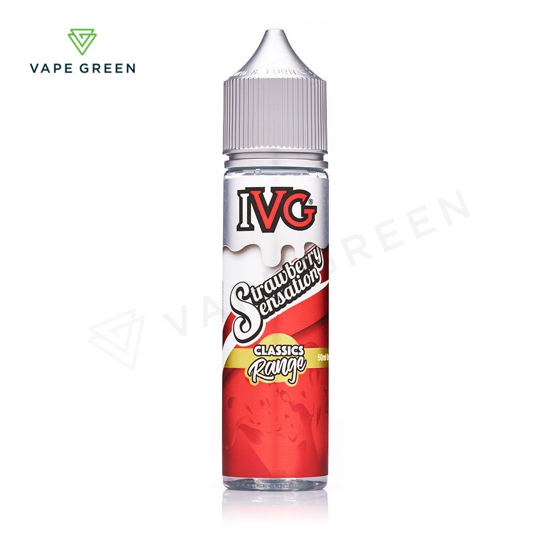 Strawberry Sensation E-liquid by IVG Classics 50ml