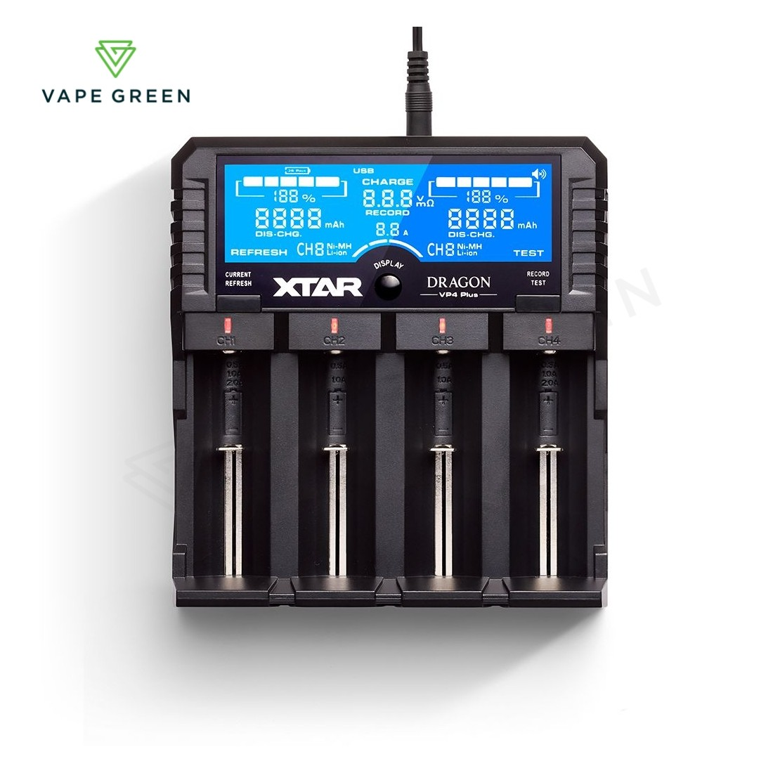 Xtar Dragon VP4 Plus Battery Charger (4-Bay)