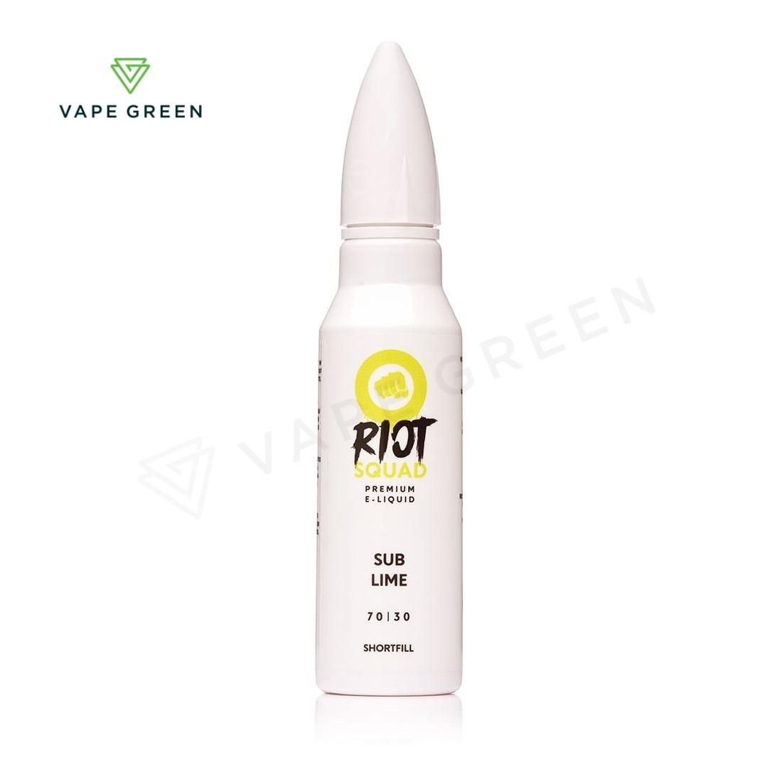 Sub-Lime eLiquid by Riot Squad 50ml