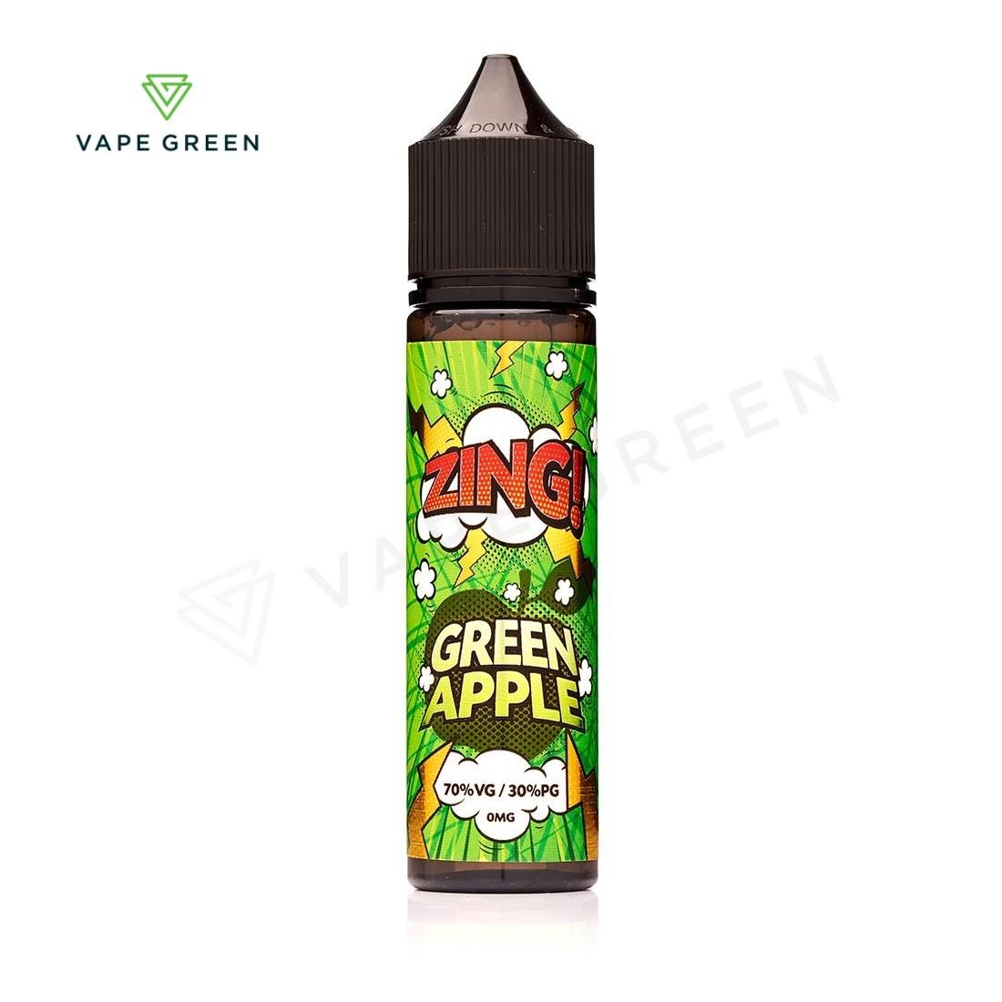 Green Apple E-liquid by Zing! 50ml