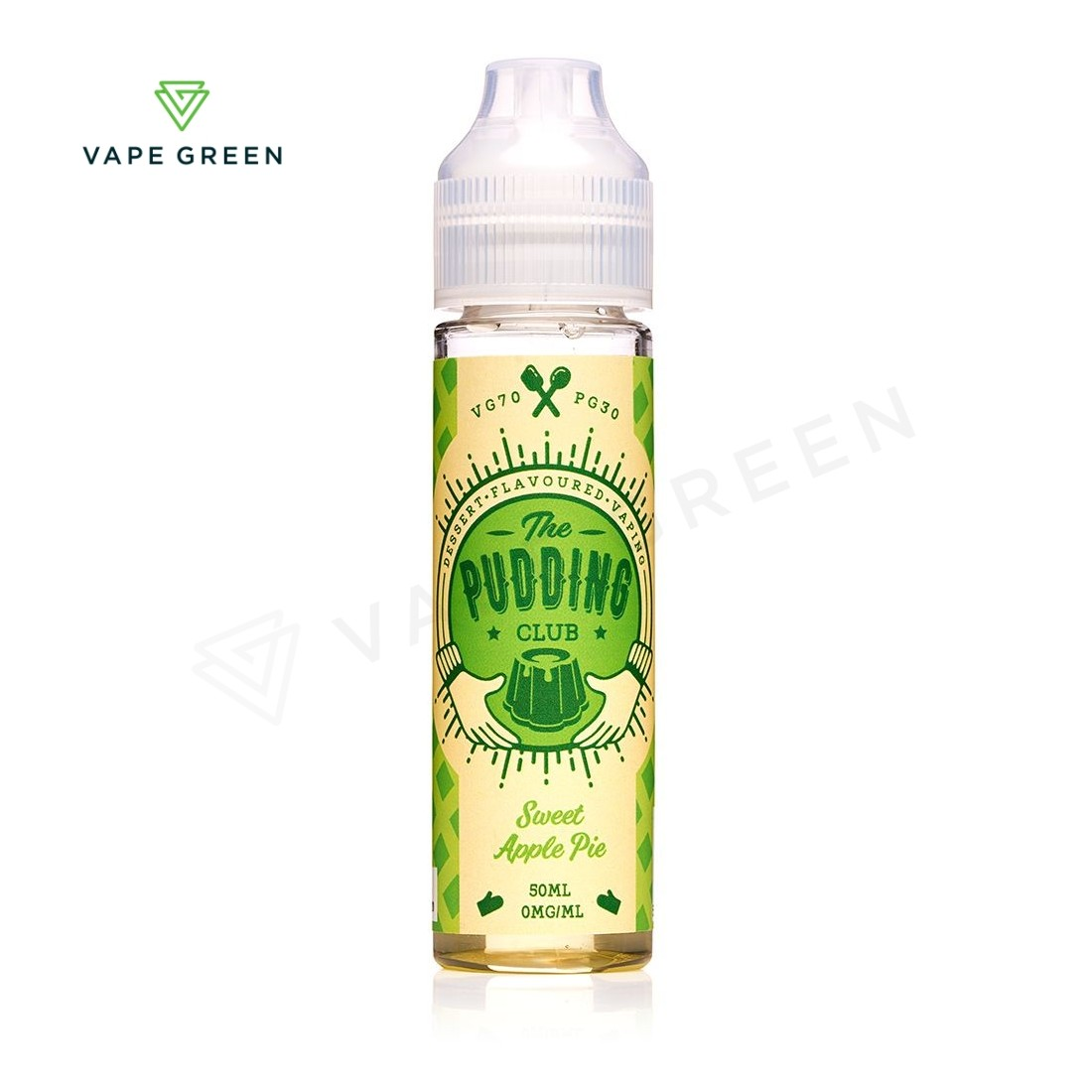 Sweet Apple Pie eLiquid by The Pudding Club 50ml