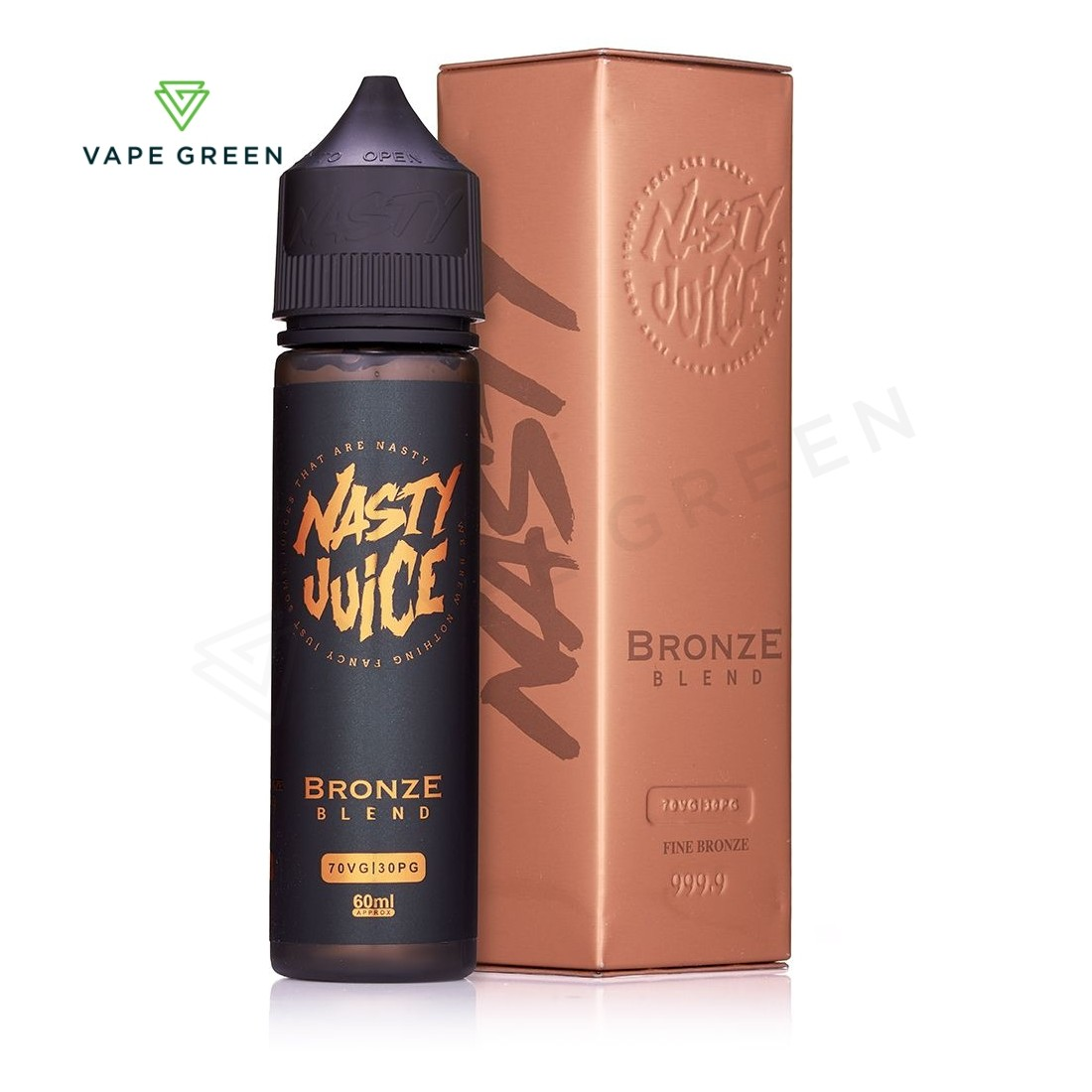 Bronze Blend Tobacco E-Liquid by Nasty Juice 50ml