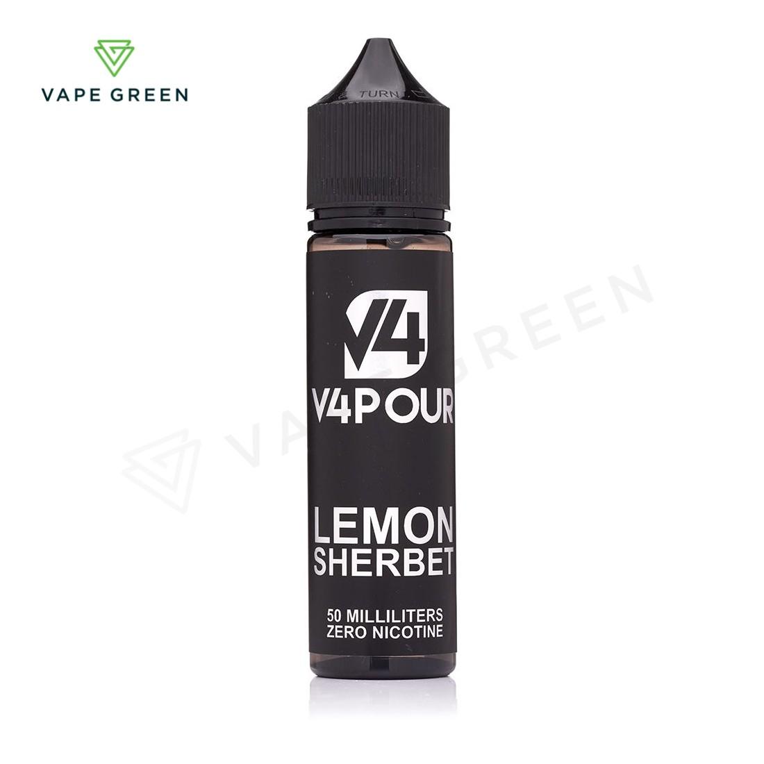 Lemon Sherbet E-liquid by V4 Vapour 50ml