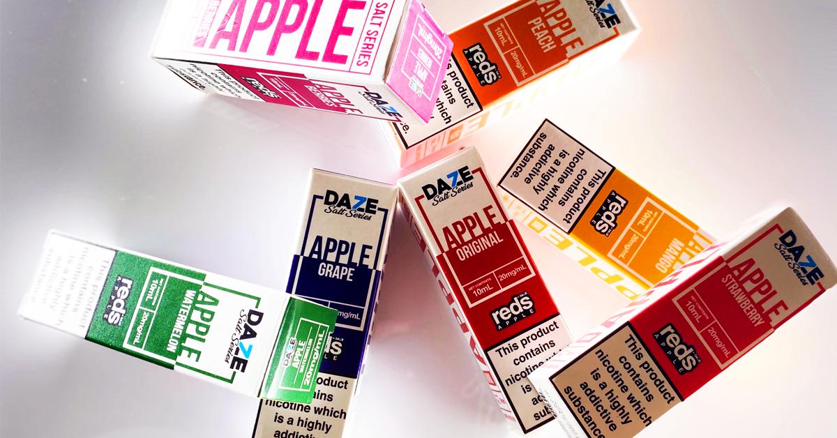 Reds Apple Nic Salt E-liquid review