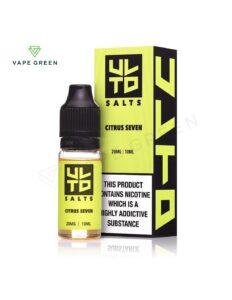 Citrus Seven Nic Salt E-Liquid by ULTD