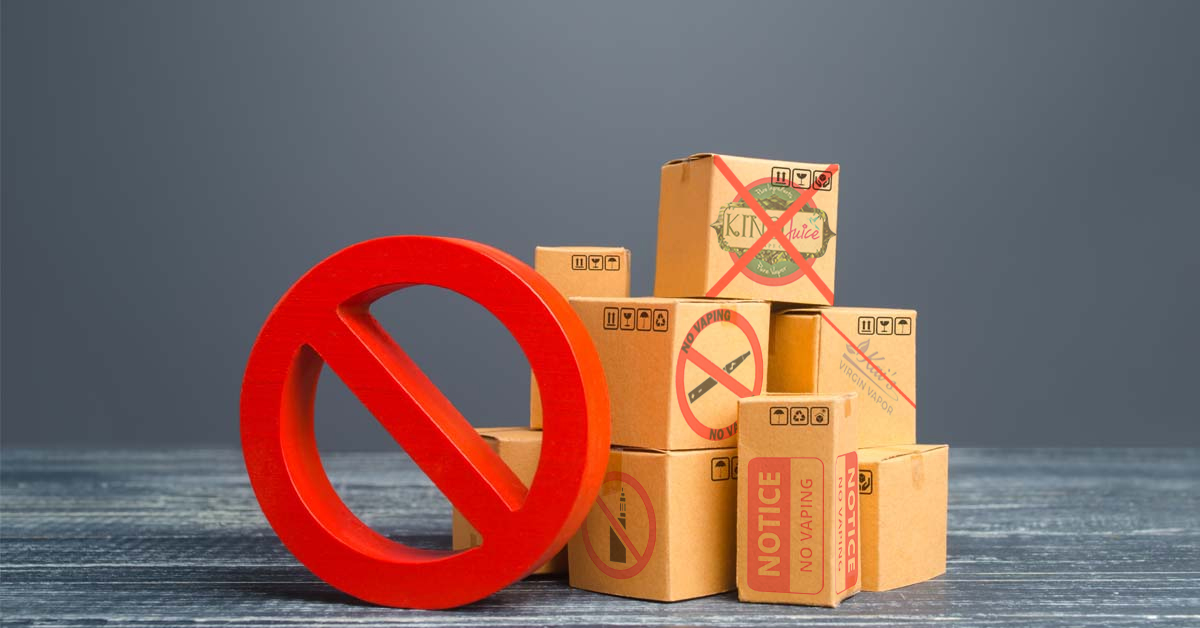 US Banning shipping of vape products causes issues for American brands in the UK