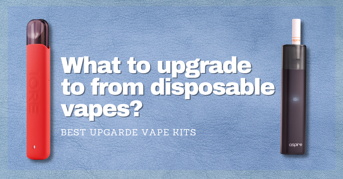 2 Excellent Alternatives to Disposable Vapes