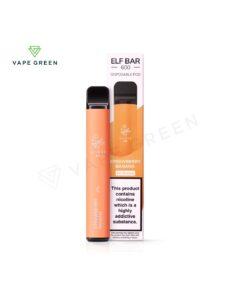Strawberry Banana Disposable Pod Kit by Elf Bar 600